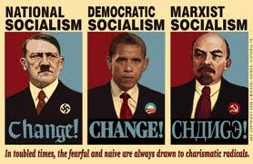 Hitler, Obama, Lenin.