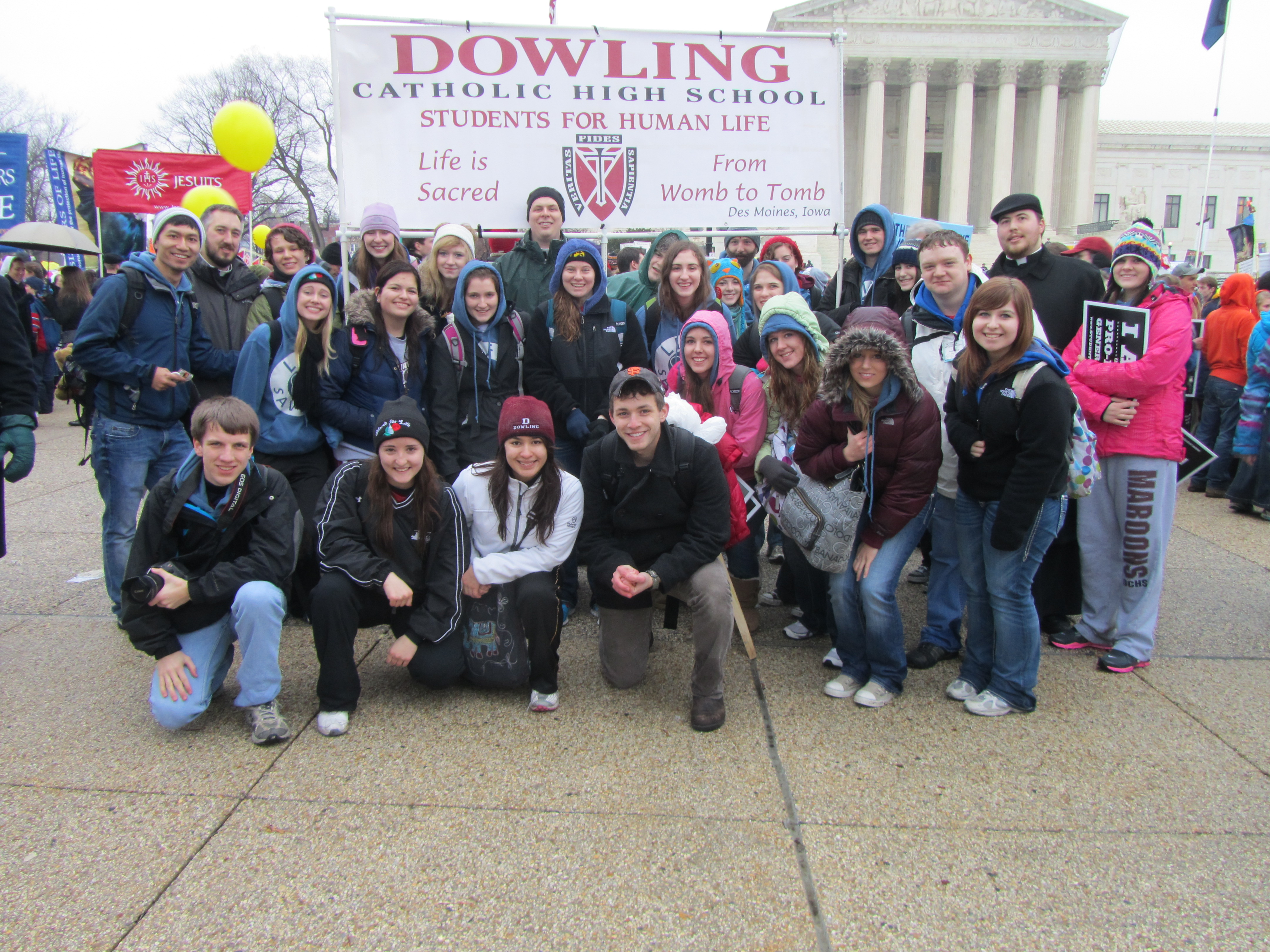 The March for Life 2012