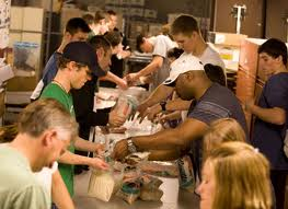 Catholic Charities serves 9 million people in the U.S. a year.