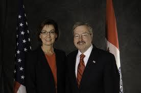 Governor Branstad and Lt. Governor Reynolds