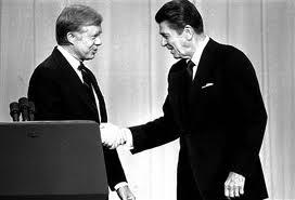 Carter debates Reagan