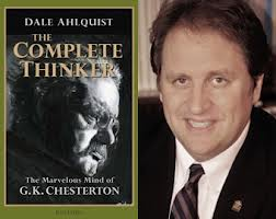 """Dale Ahlquist (right), author of """"The Complete Thinker, the marvelous mind of G.K. Chesterton"""""""