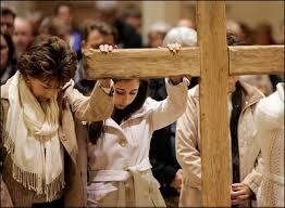 The cross isn't a fashion statement, it's a passion statement