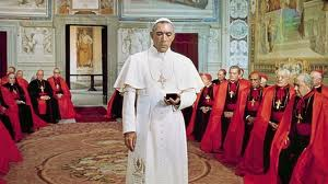 "Anthony Quinn as Pope Kiril in ""The Shoes of the Fisherman"""