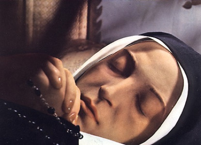 The incorruptible body of St. Bernadette