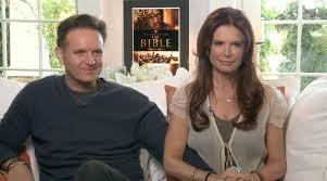 Mark Burnett and his wife, Roma Downey