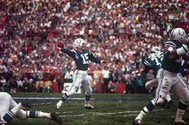 QB Earl Morrall wished he could get this pass back