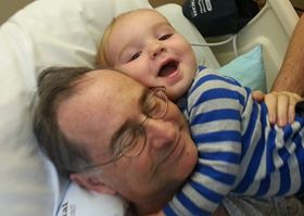 Quiner's grandson provides the healing touch