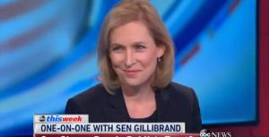 New York Democratic Senator Kirsten Gillibrand