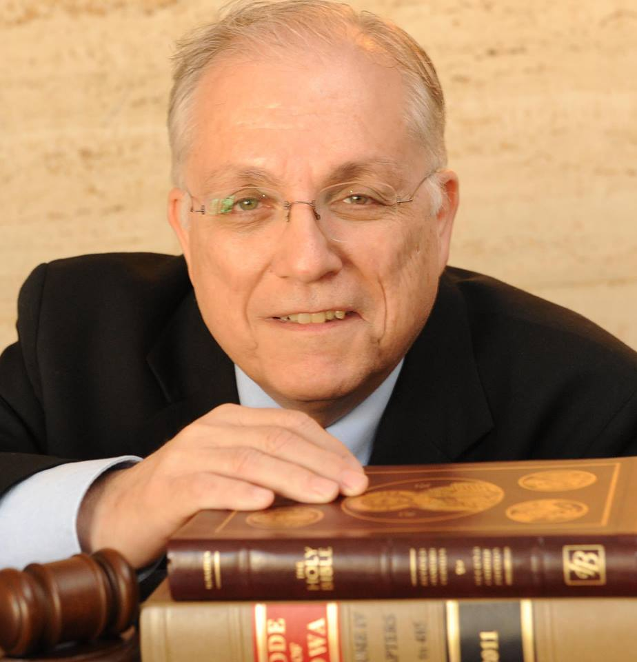 """Attorney Mike Manno, host of """"Faith on Trial"""""""