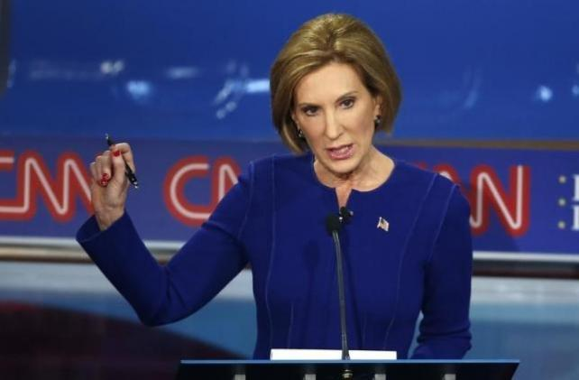 Carly Fiorina soared in last night's debate