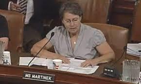 Susan Martinek testifies before Congress.