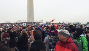 """The MSM calls this a """"small"""" crowd"""