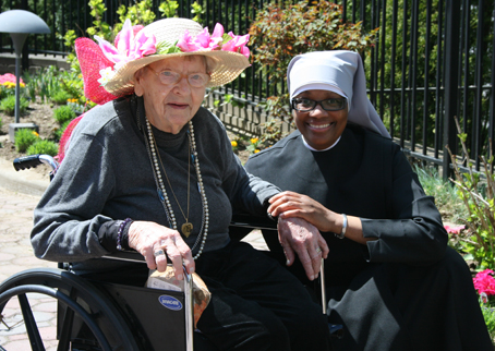 The Little Sisters of the Poor serve the elderly poor.