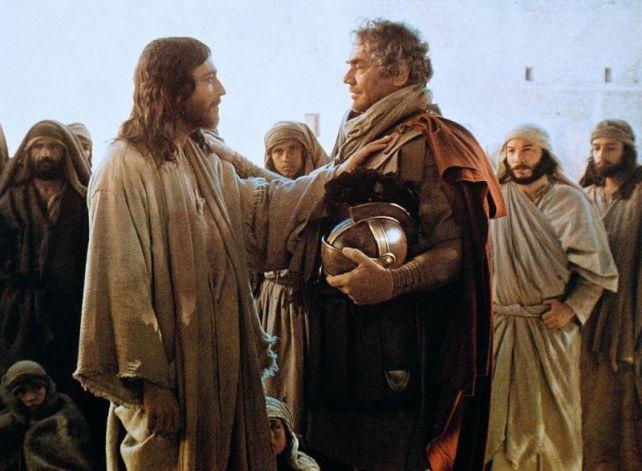 "Matthew: 8:13, as dramatized in ""Jesus of Nazareth"""