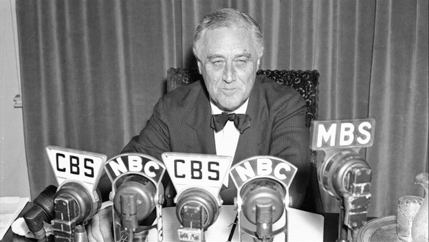 Franklin Roosevelt was not shy about invoking God or Christianity in his speeches