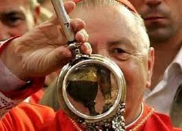 The blood of St. Januarius