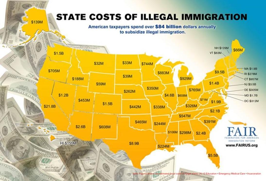american taxpayers lower their standard of living to support  american taxpayers lower their standard of living to support illegal immigrants